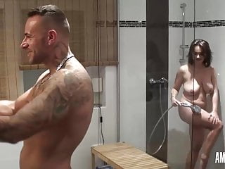 dirty-priscilla: xxl sperm shower in the showerPorn Videos