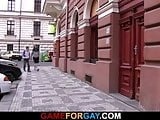Taxi driver is lured into ass pounding