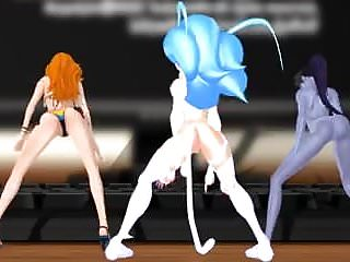 Felicia  Sexy Nami  Twerk! MMD and Widowmaker