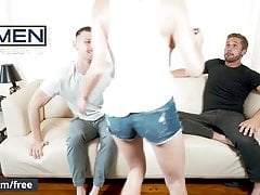 Men.com - Jacob Peterson and Wesley Woods - Hard Cocks Hidde