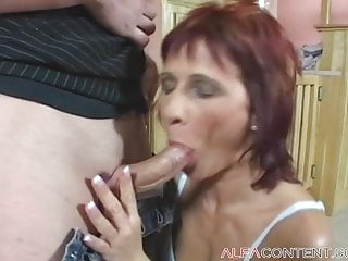 In need of sex hot milf finds fucked tough and earns a mouthful of cum