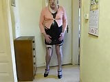 BBWCD Mature strip and posing for the cam