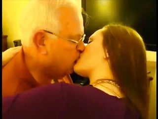 Katharine Kisses & Blows 82 Year old Man