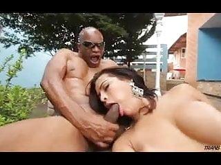 Alessandra ribeiro is taking cock...