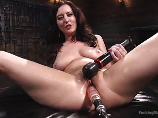 Kinky goddess cherry torn submits to...