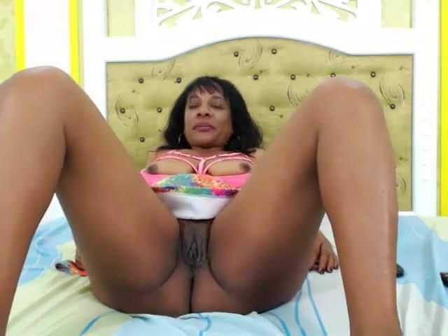 Ebony Milf Dildo Orgasm