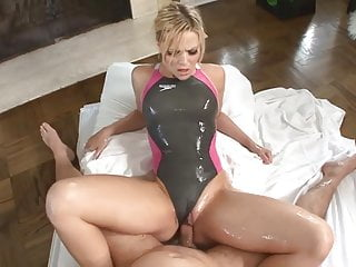 a gets in swimsuit Alexis massaged Texas