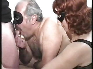 Amateur Male movie: old couple with bisex young male, mmmm, vintage