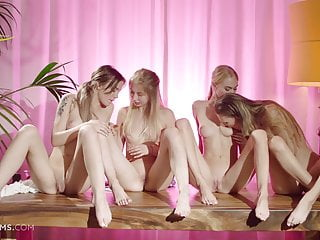 Ultrafilms Beautiful Horny Girls Discovering A Lesbian Orgy