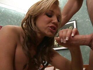 Big Tit Blonde Bounces On Big Cock
