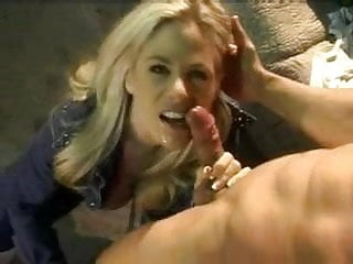 Beautiful Blonde Kim Chambers-blowjob and orgasm
