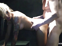 German Teen Hooker Anni Fuck With Older Man At Hotel Shower