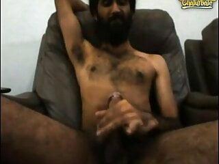 Young Desi Hairy Sardar Sikh Cum