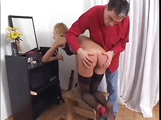 Hard domestic after spanking work