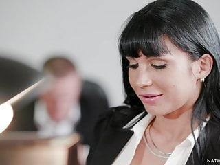 Valentina Ricci butt fucked in the bathroom - Office Sex