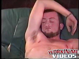 Attractive amateur gay joe the biker loves to...