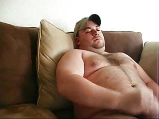 Thick musclechub cumming
