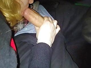 Amateur Blowjob in the car