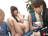 Japanese Squirting Teen in public
