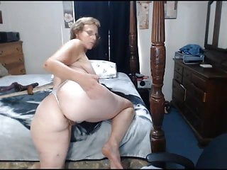 Granny mary gaping her ass...