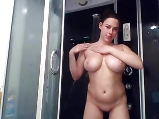 Thick great tits shower show...