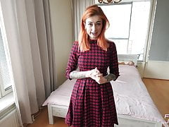 Gorgeous Redhead Babe Sucks and Hard Fucks You While Parents