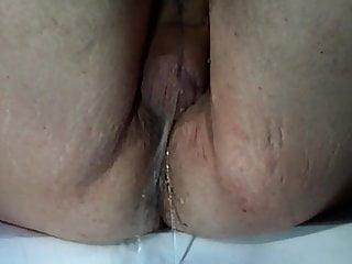 Peeing...