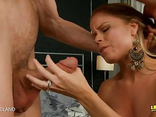 Sexy redhead cocks and pumped hard...