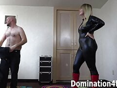 Chastity training with Mistress Joslyn James