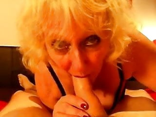 Claire Knight extreme blowjob Gargles huge load of cum