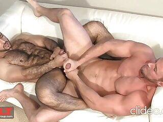 Hot Adam C. & Danny D. handjob rimjob blowljob cumshots
