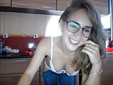 beautiful blonde on cam orgasm