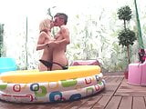 LECHE 69 Hot Spanish Lesbians in the pool