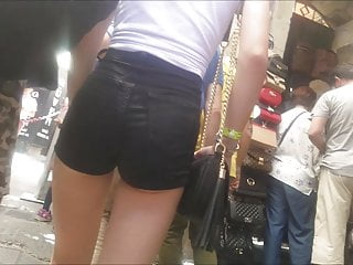 Turkish Citir Candid Skinny Teen Short Ass