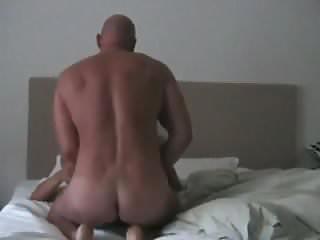 Fucks asian on his back...