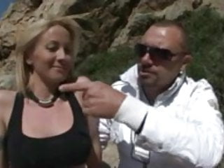 Blonde milf anal licked by Stefano