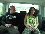 Takevan - Busty tattoo runner wait use fake taxi and fuck
