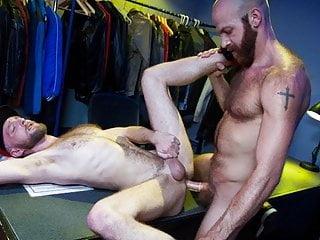 RagingStallion – Intense Otters Fuck Backstage Of Sex Club