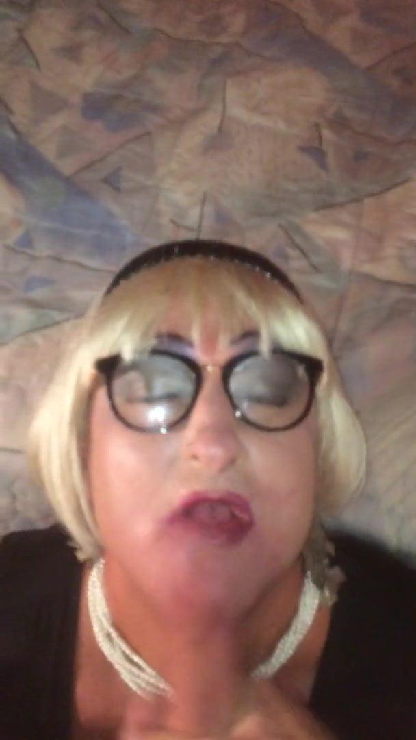 Hot Blonde Fucked The Bathroom