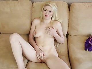 Blonde in POV fellatio and penetration