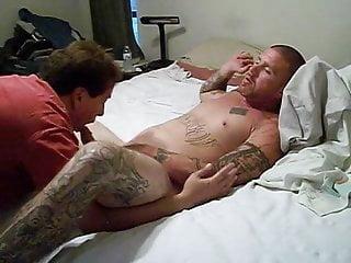 Redneck Guy Sucked N Swallowed