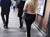 Black leggings lethal ass