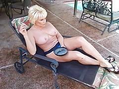 Sexy Niki's smoking joi for the neighbor