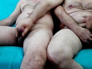 cum with my elderly friend