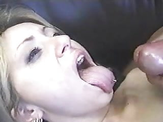 Tongue ring girl...