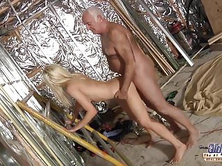 Horny assistent in old young porn cumshot...