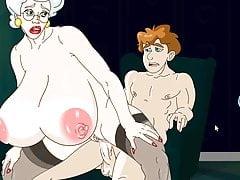 lucky boy fucks hot granny hardcorePorn Videos