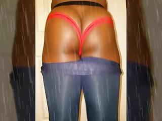 Oddball1796 sexy ass black booty jockstrap...