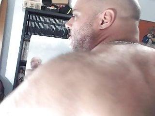 BullMuscleJoe's Hairy Muscle Flex Show!