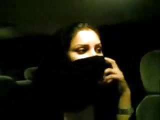 Arabic niqab girl showing...